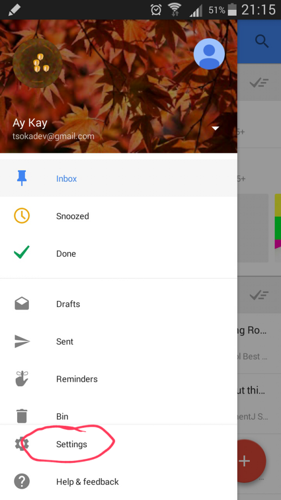 This is the second step to solve theduplicate notification problem when receiving an email on a phone with both GMail and Inbox installed.